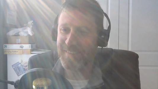 glowing sunlight